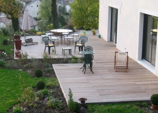 Amenagement terrasse bois exterieur images for Photos amenagement exterieur